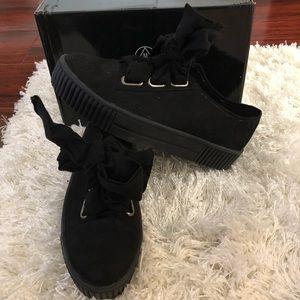 Missguided platform sneakers